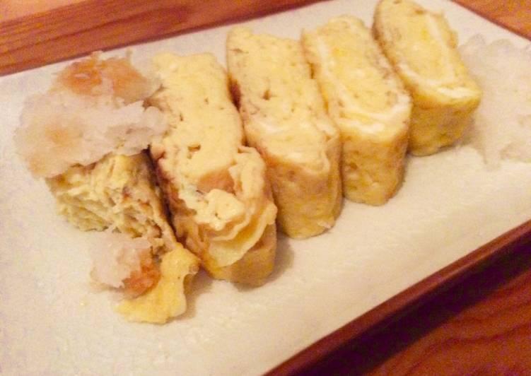 Tamago-yaki (omelette à la japonaise)