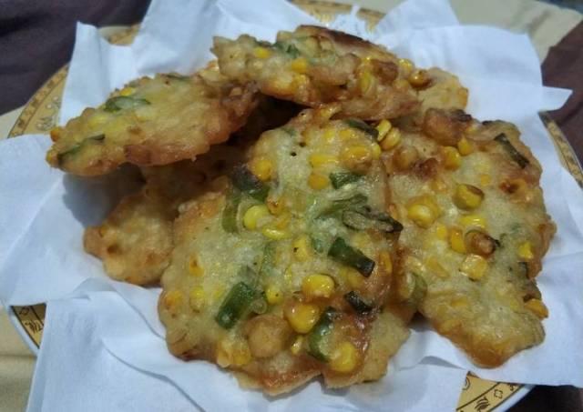 Bakwan jagung crunchy