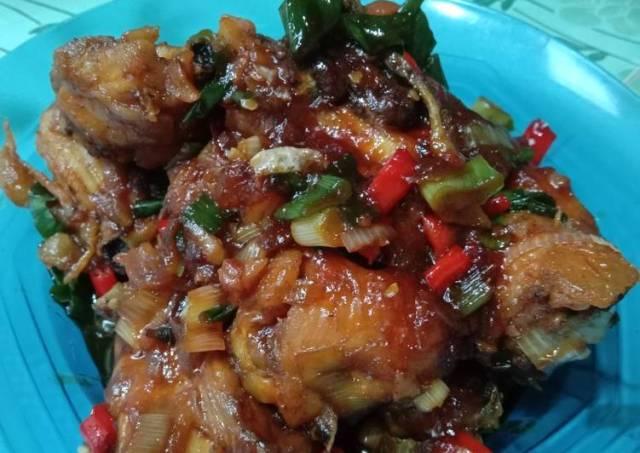 Ayam goreng asam manis