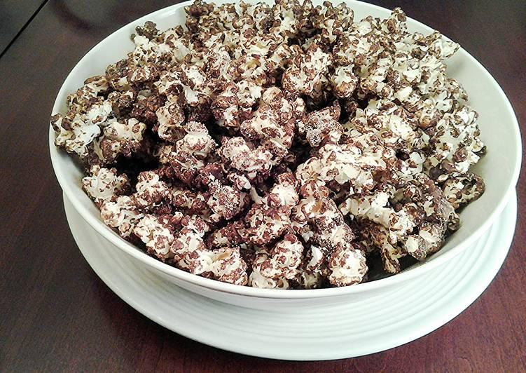 Churro Flavored Popcorn
