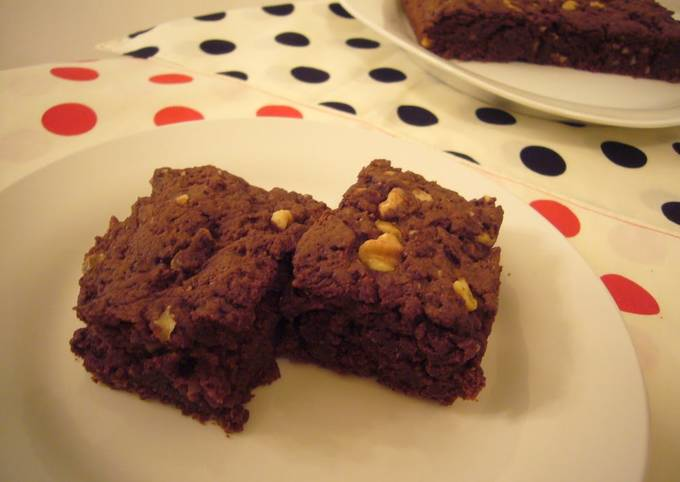 Easy Egg and Dairy-free Brownies