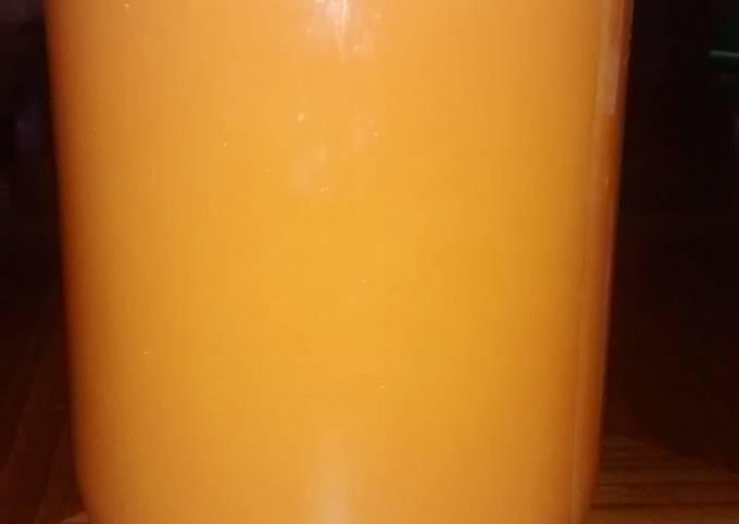 M&N's Skinny carrot juice
