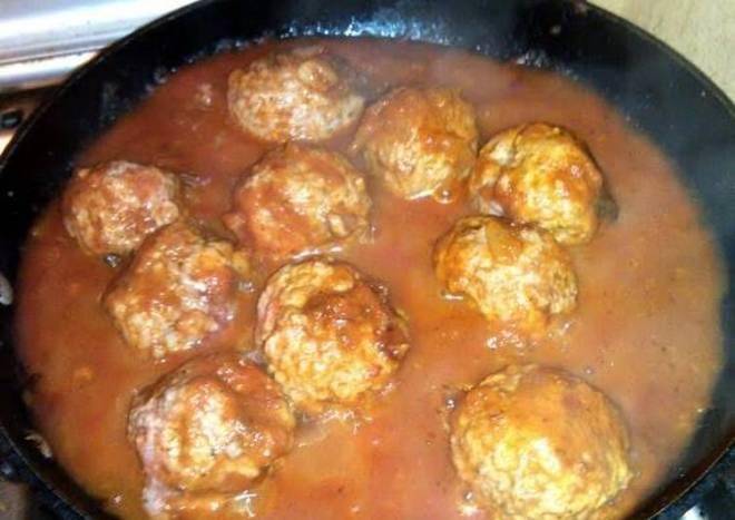 in my world, worlds best meatballs!