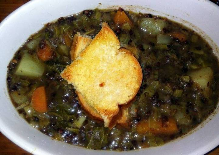 sig's Italien Vegetable Soup with Crostoni
