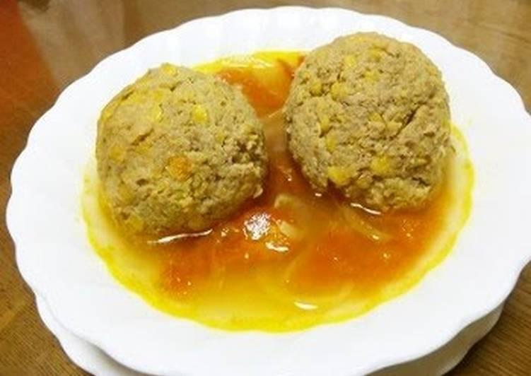 Persian-Style Lentil Meatball Soup