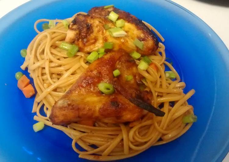 Sweet Kickin Asian Chicken