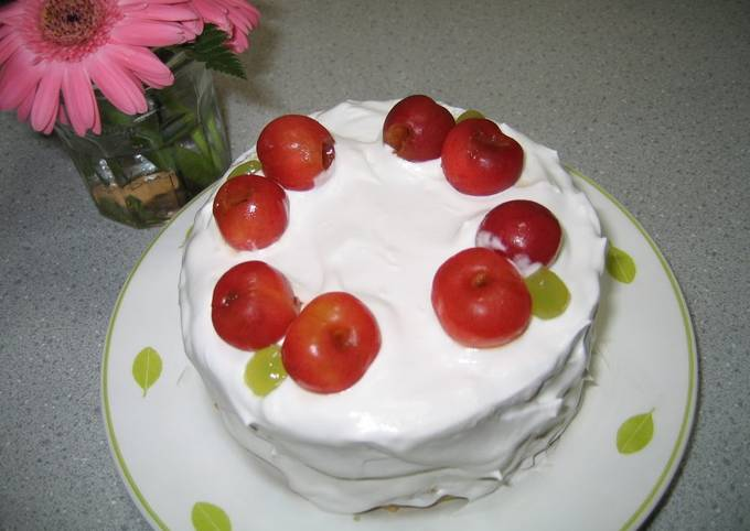 Egg & Dairy-Free Decorated Cake