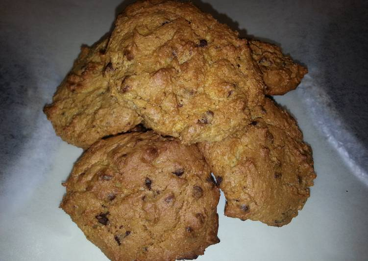 Chocolate Chips Cake Mix Cookies