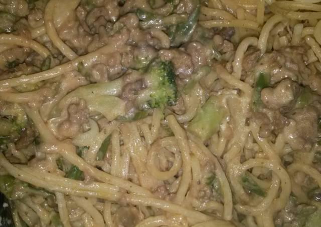 """Japanese"" spaghetti"