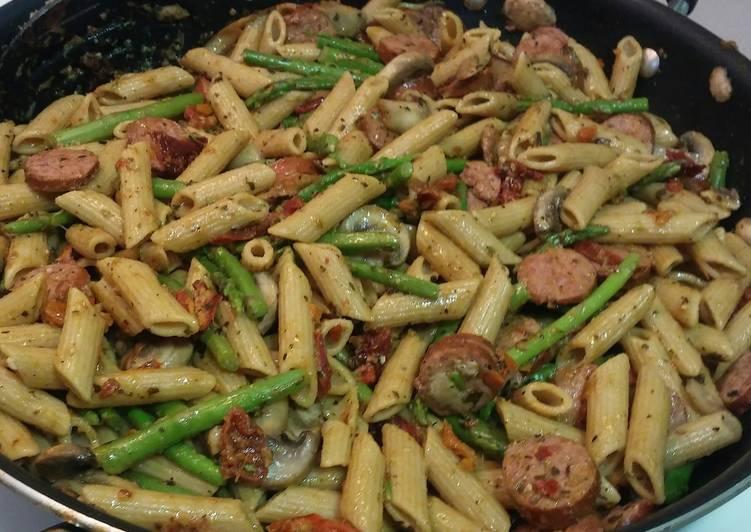 Turkey Sausage Pasta