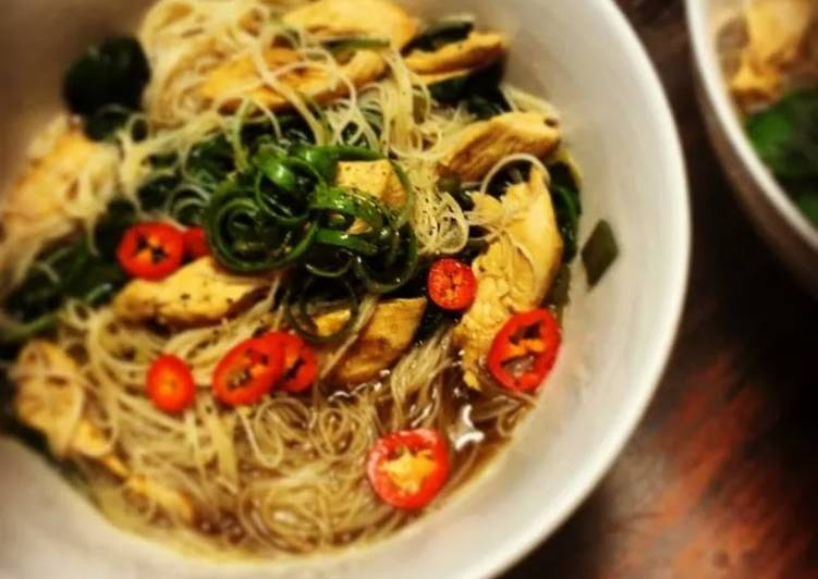 Spicey Asian Chicken Noodles