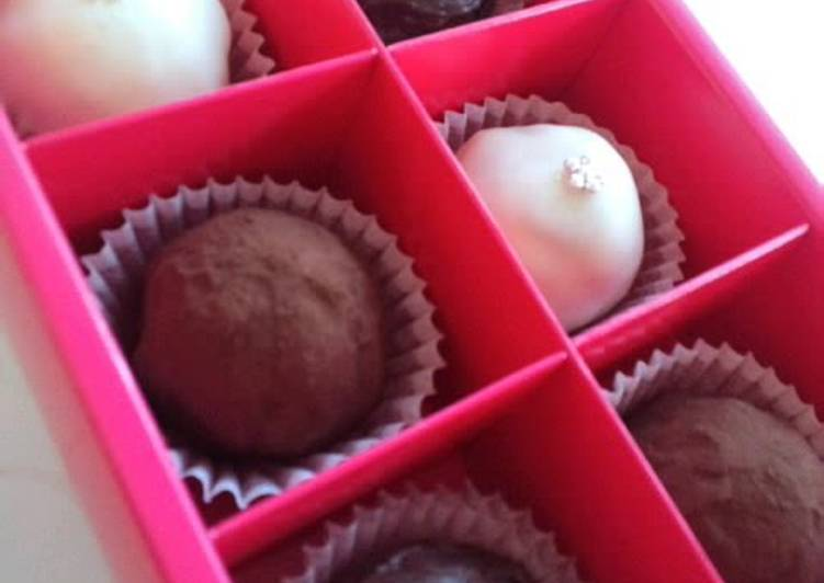 For Valentine's Day- Crispy Crunchy Truffles