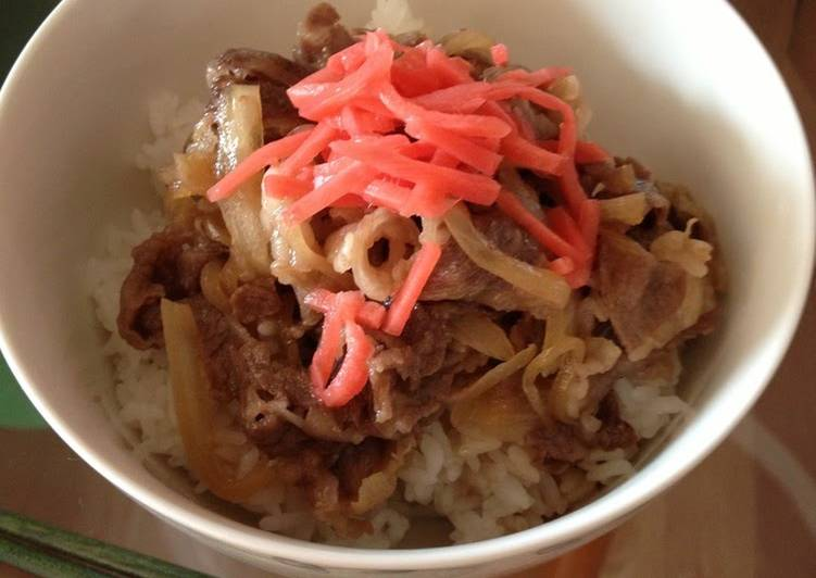Our Family's Easy and Quick Beef Rice Bowl