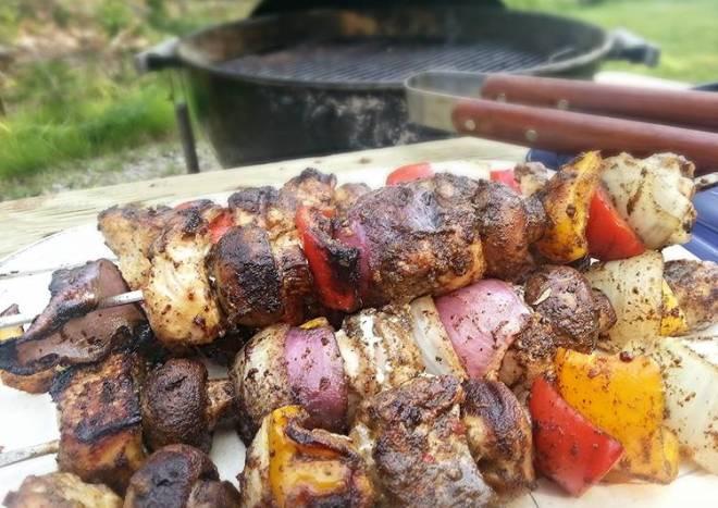 Fajita Chicken Kabobs
