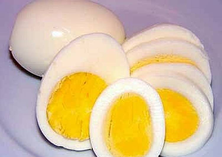 Hard Boiled Eggs On Gas Stove