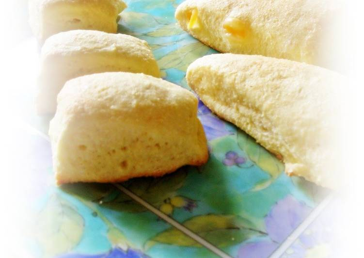 To Serve At Dinnertime: Okara Scones With Cheese