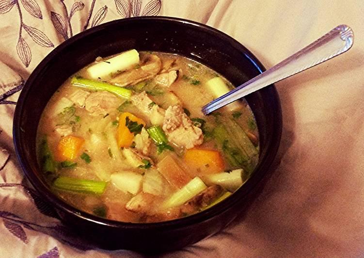 Fall Asian Pork & Pumpkin Soup