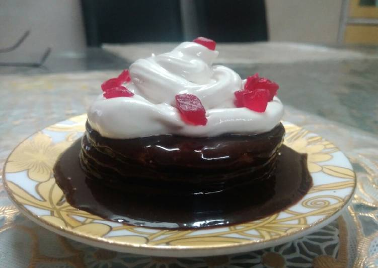 No bake mini cake