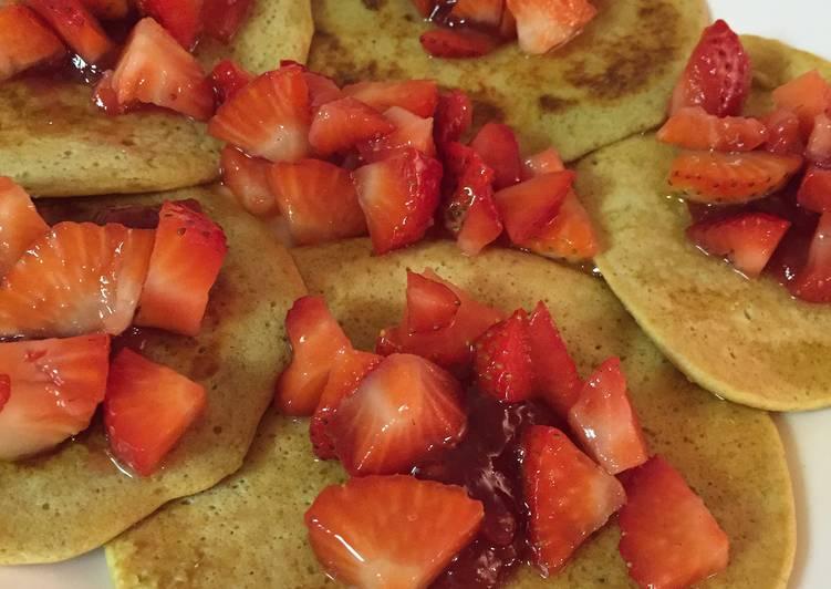 Gluten Free Dairy Free Banana Chocolate Chip Pancakes