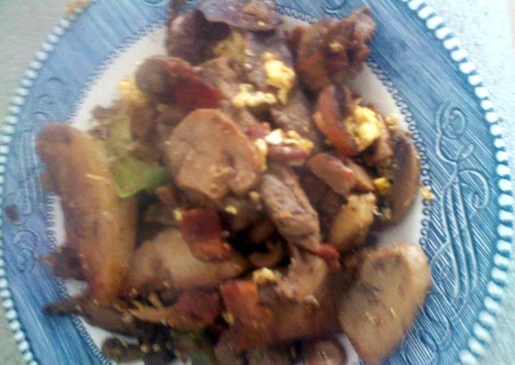 One Pan Dinner (: