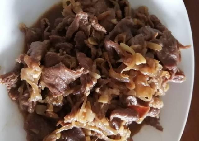Beef teriyaki simple