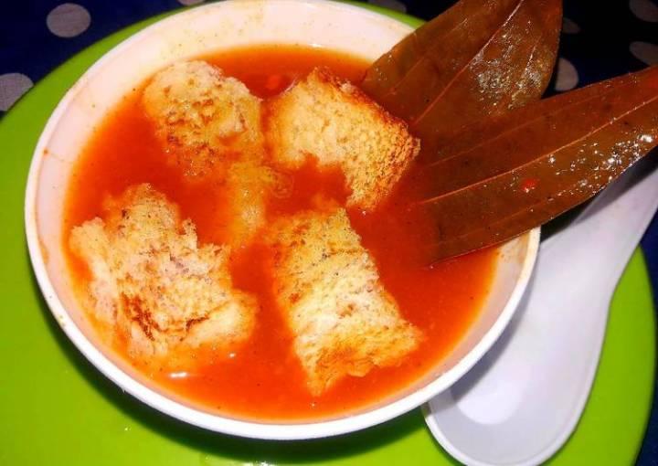 Tomato, carrot soup