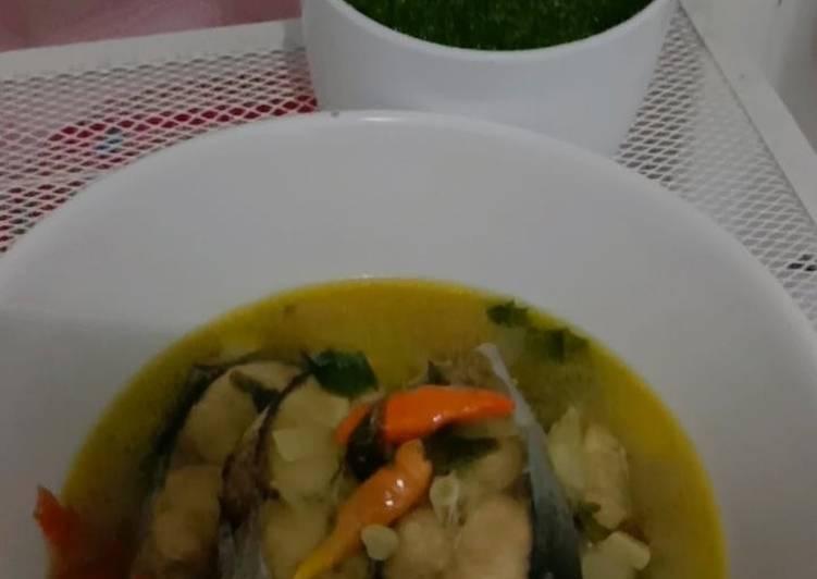 Pindang Ikan Patin (bumbu iris)