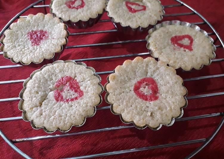 Orange muffin valentine day special