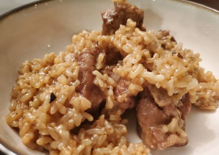 Chinese Spare Ribs and Rice (Instant Pot)