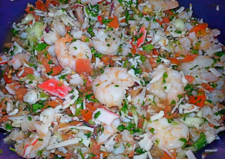 Ray's' ¤ Shrimp & Crab Ceviche ¤