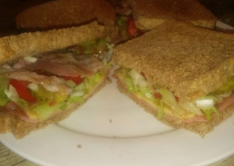Ham/Bacon Sandwich