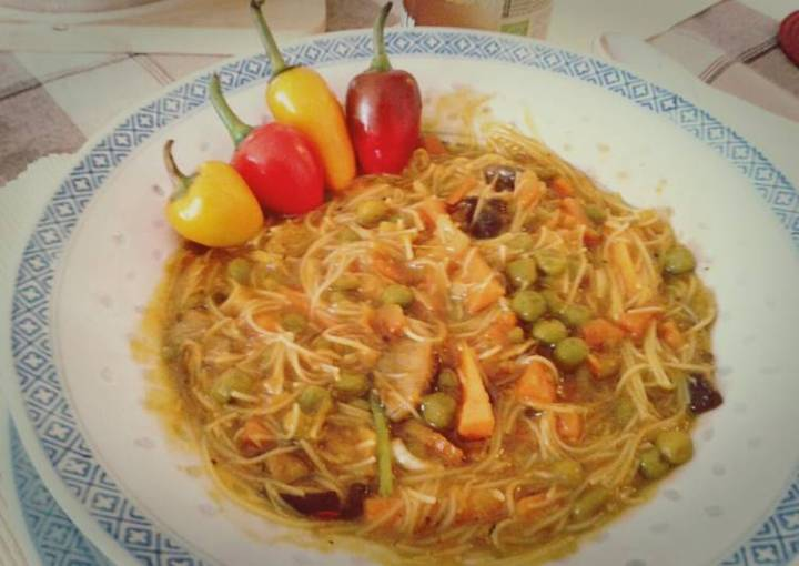 Creamy Wok Soup