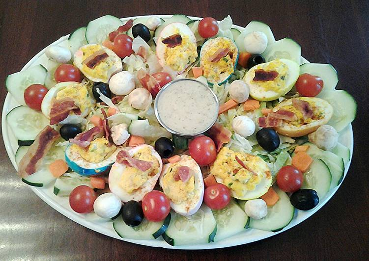 Deviled Egg Easter Salad