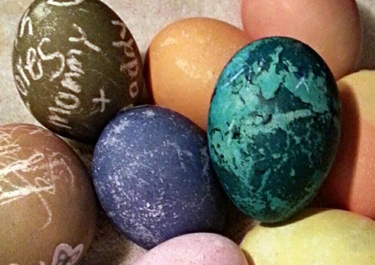 Tinklee's Dyed Easter Eggs