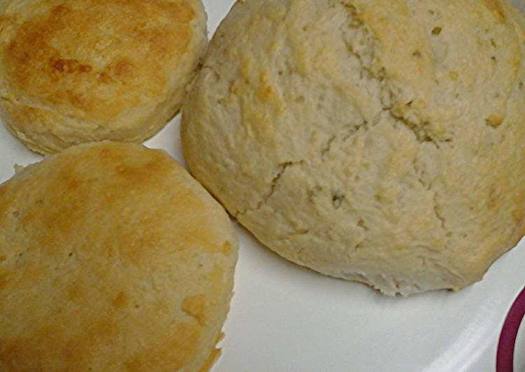 Herb and buttermilk biscuits