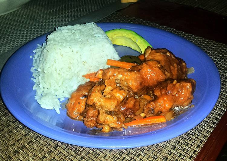 Spicy Sweet & Sour Chicken
