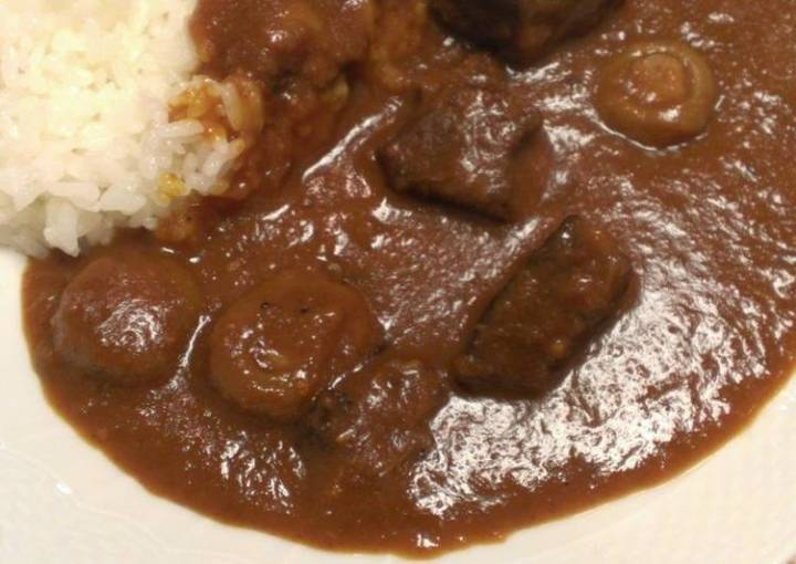 Seriously Authentic Stewed Curry Made from Homemade Roux