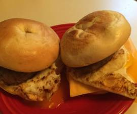 Recipe: Yummy Sausage,egg And Cheese Bagels