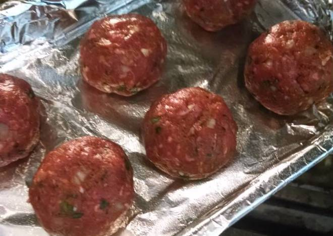 Teddy Bonomo Meatballs
