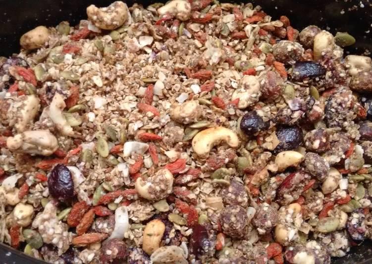 Super healthy granola
