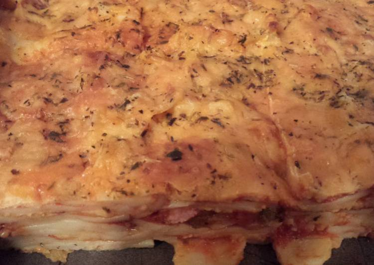 Loaded lasagna