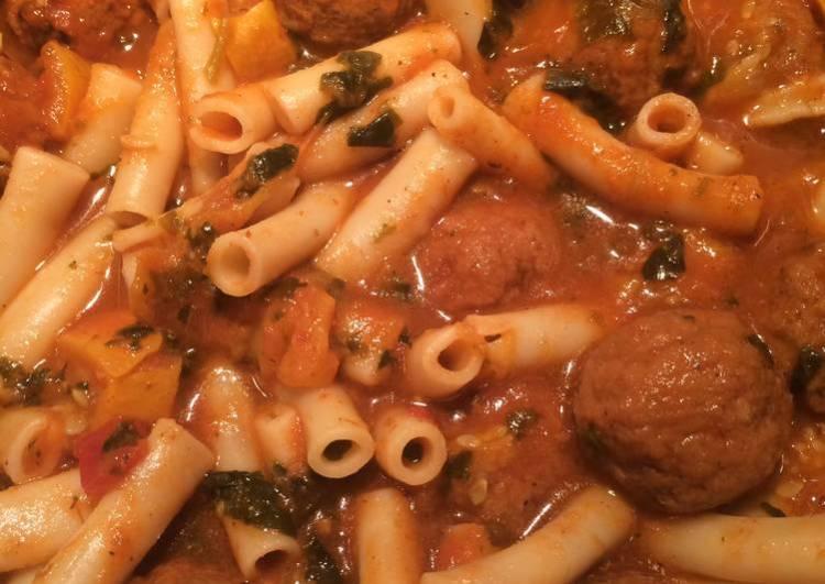 Sheryl's Florentine Meatball Soup