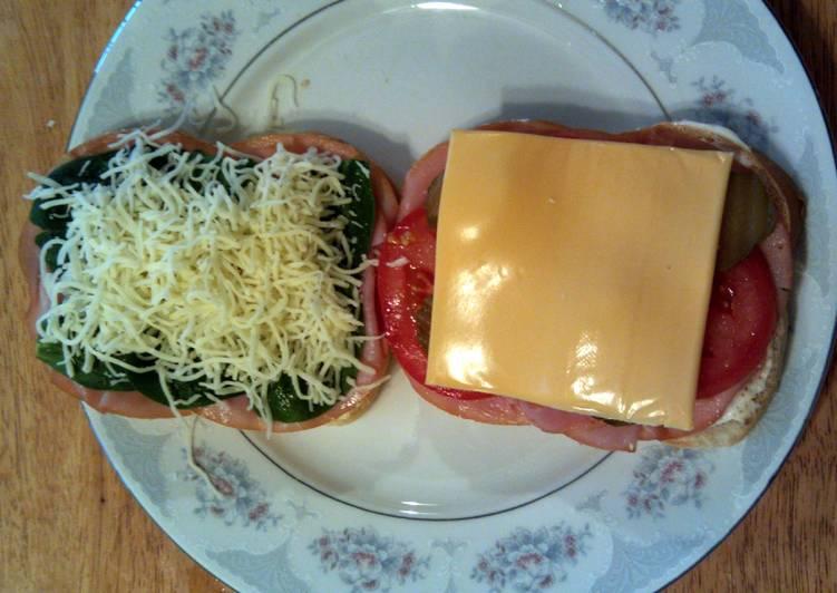 Taisen's wacky ham sandwich