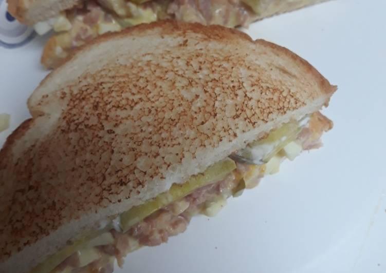 Chopped Ham Sandwich