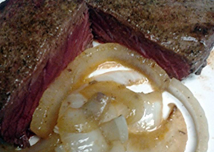 Stove top steak