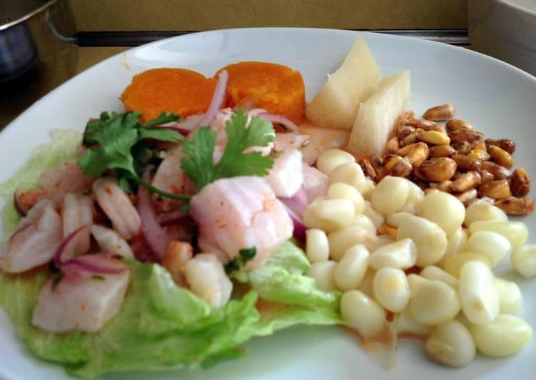 Peruvian Ceviche (Northern style)