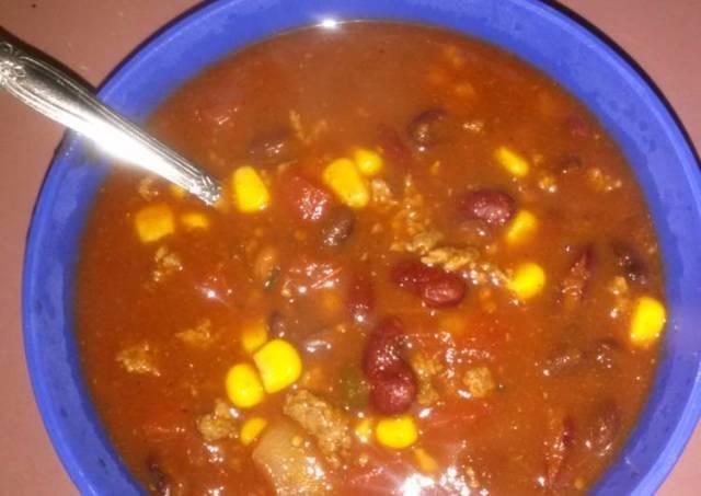 Nanas taco soup