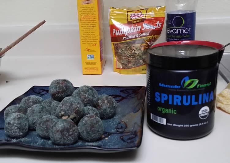 Spirulina Energy Balls