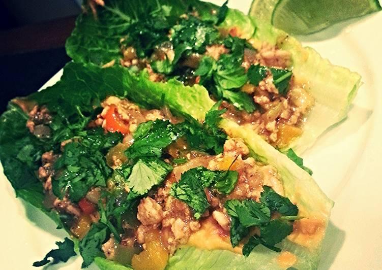 Trav's Cilantro Lime Lettuce Wraps