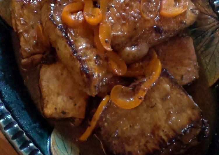 Asian Inspired Pan Rushed Pork Chops